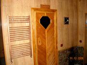 Отдых в семейной бане нна дровах