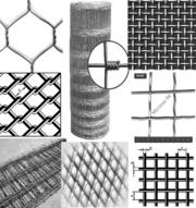 Металеві сітки: рабиця,  ткана,  зварна,  кладочна,  нержавіюча та ін