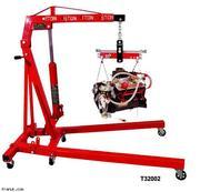 Мобильный кран складной Big Red-оборудование для автосервиса
