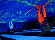 Ультрафиолетовые краски невидимые днем