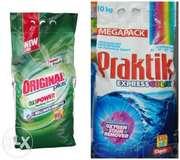 Продам пральний порошок Praktik 10кг. - 106грн.Порошок Multicolor 10 к