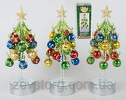 Новогоднее украшение Елочка с LED подсветкой,  25см