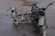 Военный мотоцикл Днепр