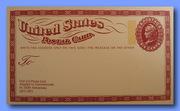 Юбилейная почтовая карточка США 1973 года.