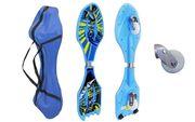 Двухколесный скейт Ripstik SK-0330 (Рипстик) Spiderman,  Batman голубой