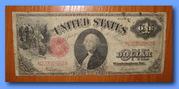 Банкнота США номіналом 1 долар 1917 року випуску