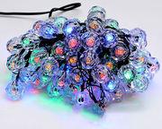 Гирлянда 2м,  100 led (разноцветные),  8 режимов,  с украшением на лампоч