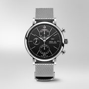 IWC Portfonio Chronograph Black Dial Men's Watch IW391010