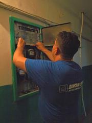 Послуги електрика Рівне. Монтажні роботи