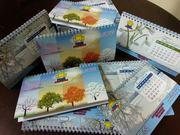 Виготовлення календарів на 2020 рік,  новорічних листівок