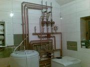 Установка отопительных систем и сантехники